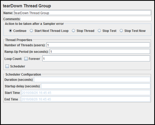 Setup and Teardown Thread Group in Jmeter | Testing Journals